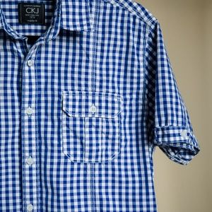 Calvin Klein Shirts - Calvin Klein Jeans Men's Short-Sleeve Plaid Shirt